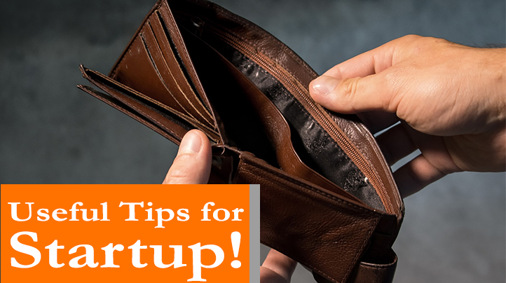 Useful tips for startup