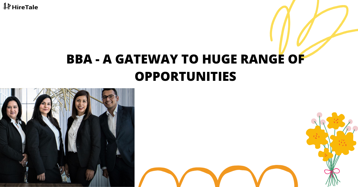 BBA- A gateway to huge range of opportunities
